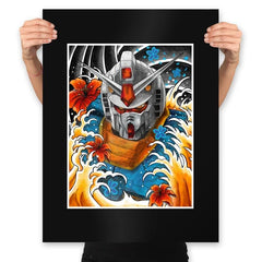 RX 78 - Prints - Posters - RIPT Apparel