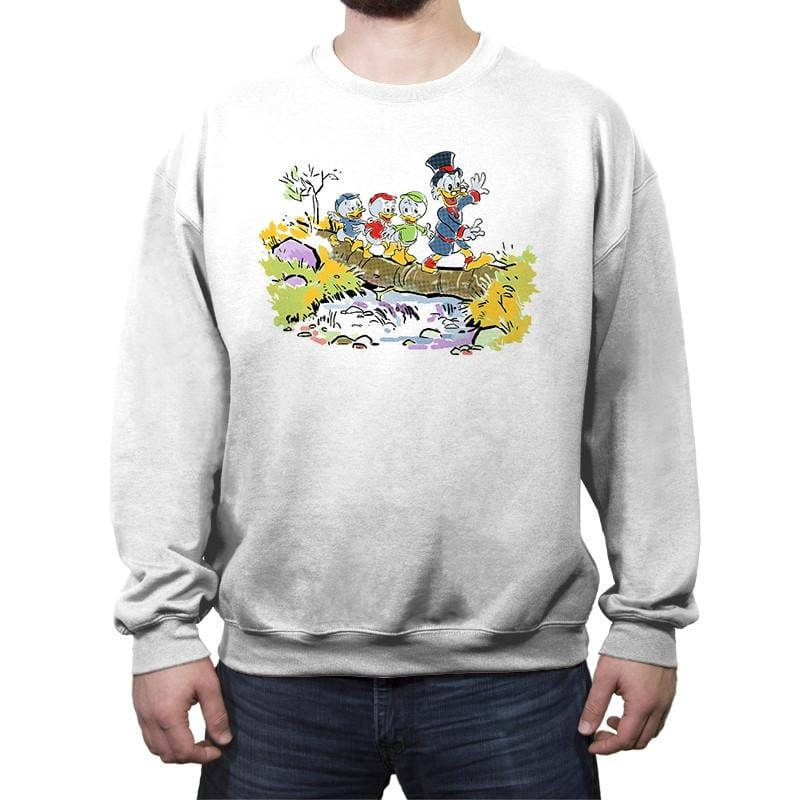 Looking for adventure  - Crew Neck Sweatshirt - Crew Neck Sweatshirt - RIPT Apparel