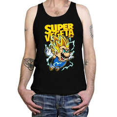 Super Vegeta Bros - Tanktop - Tanktop - RIPT Apparel
