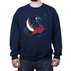 A Strange New World - Crew Neck Sweatshirt - Crew Neck Sweatshirt - RIPT Apparel