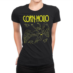 Corn Holio - Womens Premium - T-Shirts - RIPT Apparel