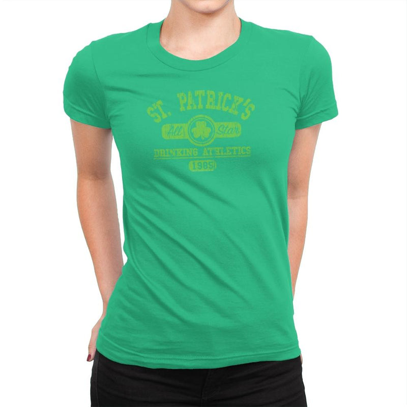 Drinking Athletics Exclusive - Womens Premium - T-Shirts - RIPT Apparel
