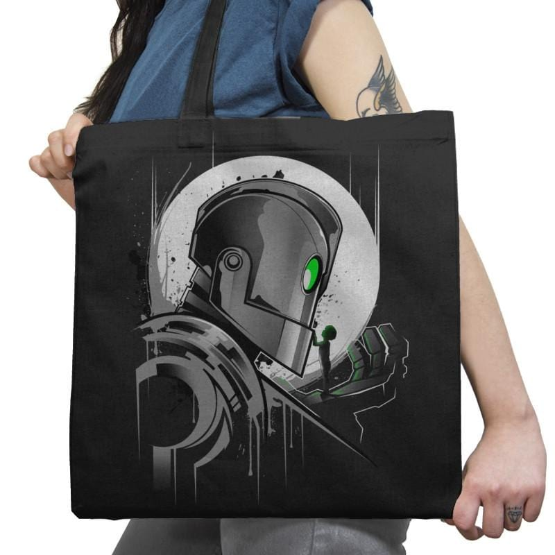 My Giant Friend - Graffitees - Tote Bag - Tote Bag - RIPT Apparel