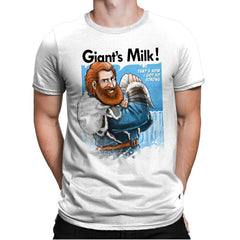 Giant's Milk! - Mens Premium - T-Shirts - RIPT Apparel