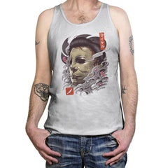 Oni Slasher Mask - Tanktop - Tanktop - RIPT Apparel