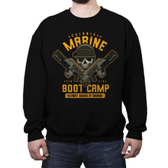 Colonial Marines Boot Camp - Crew Neck Sweatshirt - Crew Neck Sweatshirt - RIPT Apparel