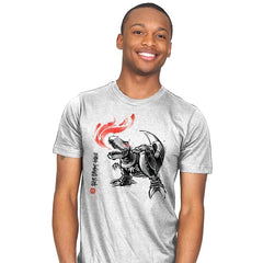 Robot Lizard King - Mens - T-Shirts - RIPT Apparel