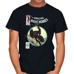 The Amazing Night Monkey - Anytime - Mens - T-Shirts - RIPT Apparel