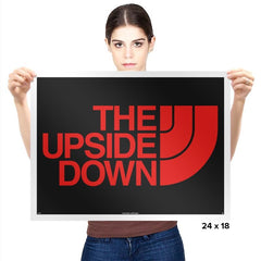 THE UPSIDE DOWN - Prints - Posters - RIPT Apparel