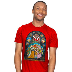 Beauty and the Bowser - Mens - T-Shirts - RIPT Apparel