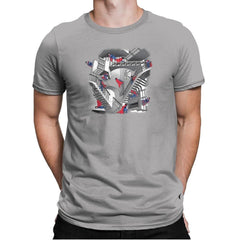 Strange Stairs Exclusive - Mens Premium - T-Shirts - RIPT Apparel