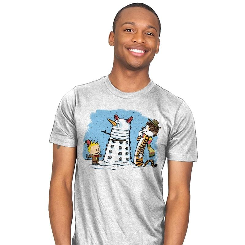 The Snow Dalek - Mens - T-Shirts - RIPT Apparel