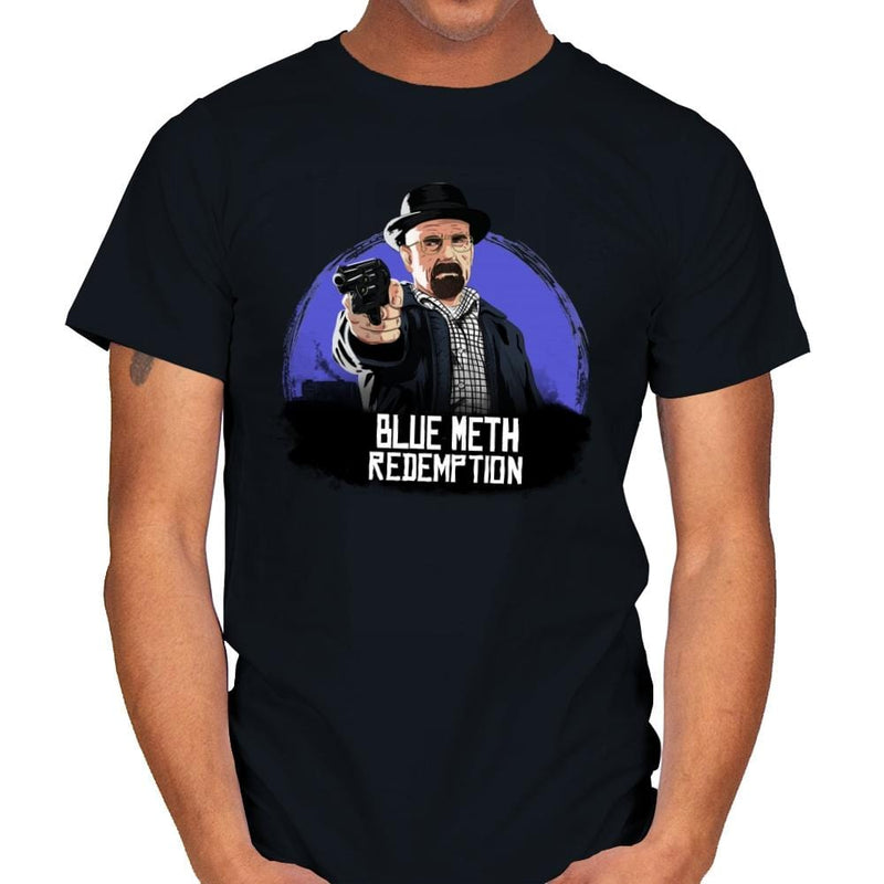 Blue Meth Redemption - Mens - T-Shirts - RIPT Apparel