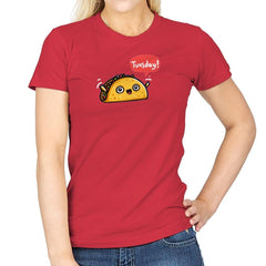 Tuesdays Are For Tacos - Womens - T-Shirts - RIPT Apparel