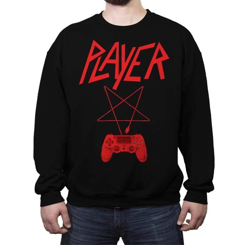 Player - Crew Neck Sweatshirt - Crew Neck Sweatshirt - RIPT Apparel