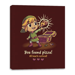 The Legendary Pizza - Canvas Wraps - Canvas Wraps - RIPT Apparel