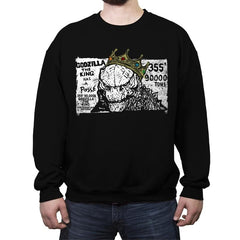 The Big King - Crew Neck Sweatshirt - Crew Neck Sweatshirt - RIPT Apparel