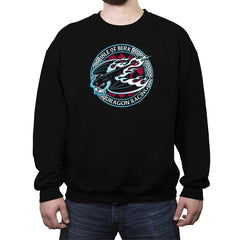 Dragon Racing - Crew Neck Sweatshirt - Crew Neck Sweatshirt - RIPT Apparel