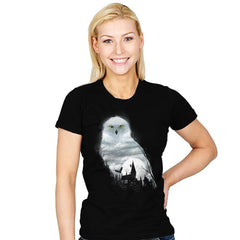 Magical Winter Night - Womens - T-Shirts - RIPT Apparel