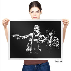 Cyborg Fiction - Prints - Posters - RIPT Apparel