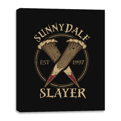 Sunnydale Slayer - Canvas Wraps - Canvas Wraps - RIPT Apparel