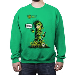 Link the Fire - Crew Neck Sweatshirt - Crew Neck Sweatshirt - RIPT Apparel