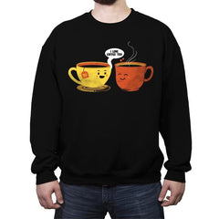 I Love Coffee Too - Crew Neck Sweatshirt - Crew Neck Sweatshirt - RIPT Apparel