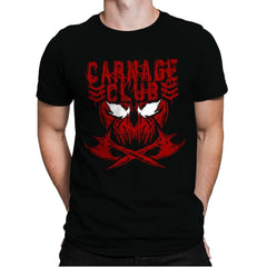 CARNAGE CLUB Exclusive - Mens Premium - T-Shirts - RIPT Apparel