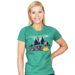 Mabel and the Seven Gnomes Exclusive - Womens - T-Shirts - RIPT Apparel