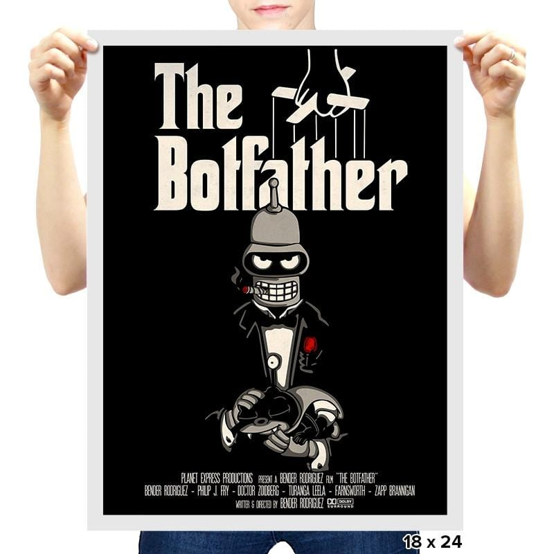The Botfather - RIPTcademy2017 - Prints - Posters - RIPT Apparel