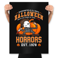 Halloween Horrors - Prints - Posters - RIPT Apparel