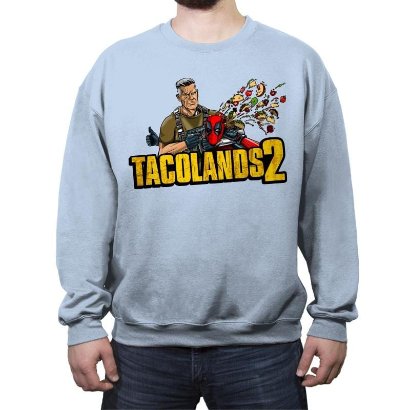 Tacolands 2 - Crew Neck Sweatshirt - Crew Neck Sweatshirt - RIPT Apparel