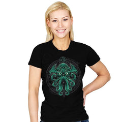 Great Cthulhu - Womens - T-Shirts - RIPT Apparel