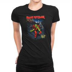 Iron Michael: The Thriller Exclusive - Womens Premium - T-Shirts - RIPT Apparel