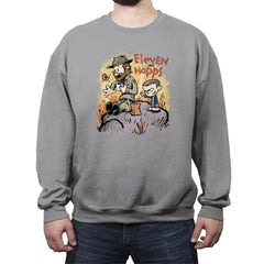 Eleven and Hopps - Crew Neck Sweatshirt - Crew Neck Sweatshirt - RIPT Apparel