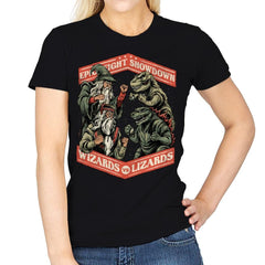 Wizards vs Lizards - Womens - T-Shirts - RIPT Apparel