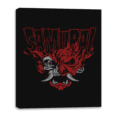 Cyber Samurai - Canvas Wraps - Canvas Wraps - RIPT Apparel