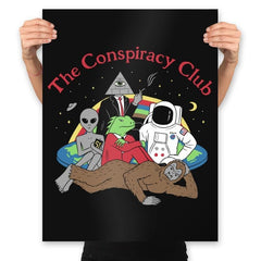The Conspiracy Club - Prints - Posters - RIPT Apparel