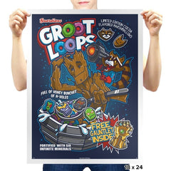 Groot Loops - Awesome Mixtees - Prints - Posters - RIPT Apparel