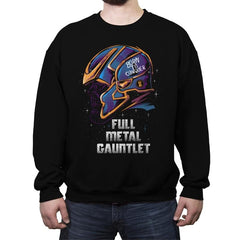 Full Metal Gauntlet - Crew Neck Sweatshirt - Crew Neck Sweatshirt - RIPT Apparel