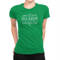 Ninja Academy Exclusive - Anime History Lesson - Womens Premium - T-Shirts - RIPT Apparel