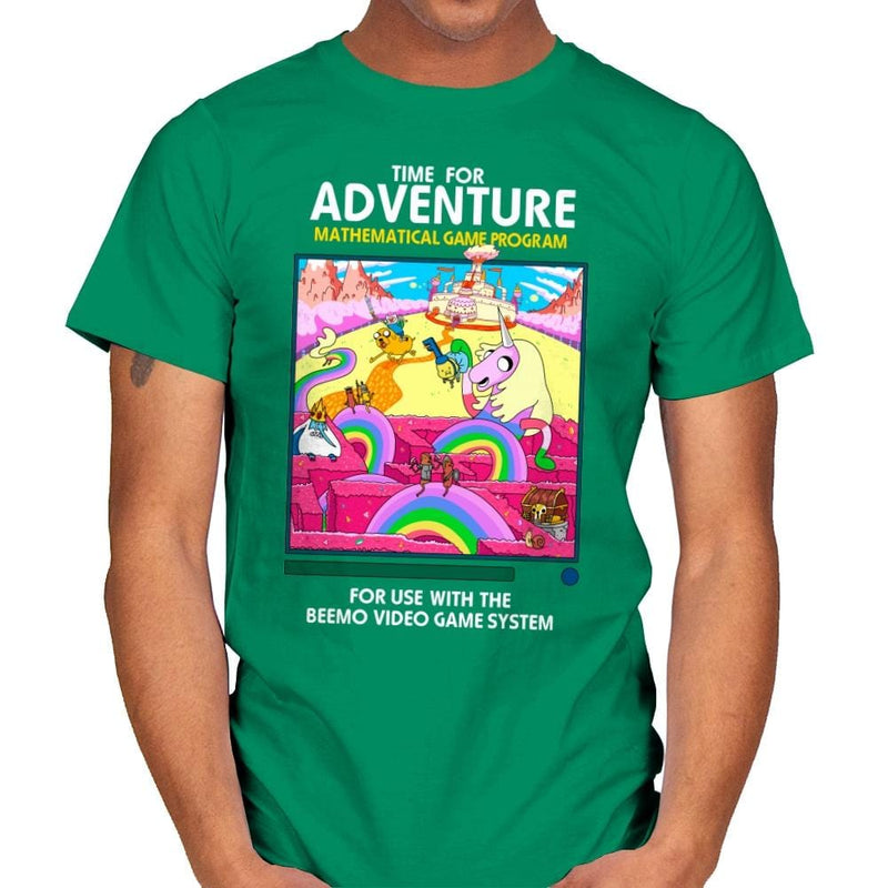 Time for Adventure - Mens - T-Shirts - RIPT Apparel