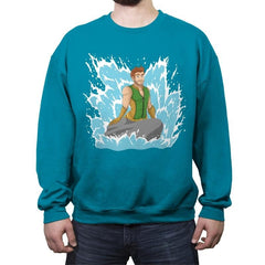 Seven's Mermaid - Crew Neck Sweatshirt - Crew Neck Sweatshirt - RIPT Apparel