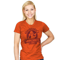 Charmander's Smokehouse & Grill - Womens - T-Shirts - RIPT Apparel