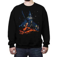 Android Wars - Crew Neck Sweatshirt - Crew Neck Sweatshirt - RIPT Apparel