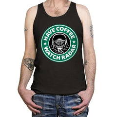 Have Coffee, Watch Radar - Tanktop - Tanktop - RIPT Apparel