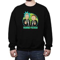 Wubba Fiction - Crew Neck Sweatshirt - Crew Neck Sweatshirt - RIPT Apparel