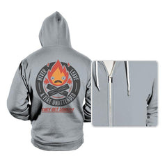 Lonely Fire Demon - Hoodies - Hoodies - RIPT Apparel