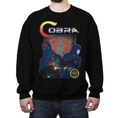 COBRA - Crew Neck Sweatshirt - Crew Neck Sweatshirt - RIPT Apparel