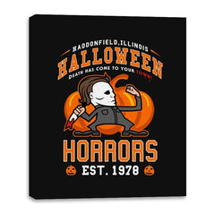 Halloween Horrors - Canvas Wraps - Canvas Wraps - RIPT Apparel